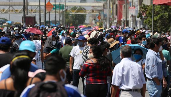 Ayer, el número de contagiados por COVID-19 alcanzó los 507.996, según reveló el Minsa (Foto: Manuel Melgar/GEC)