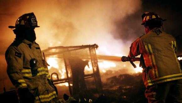 Una anciana falleció tras incendio dentro de su vivienda en el distrito de Chorrillos. (Foto: César Grados / @photo.gec)