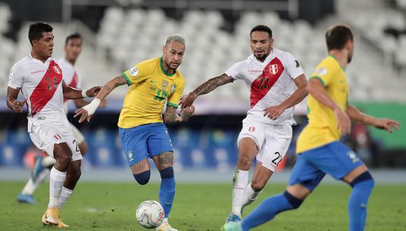 Perú vs. Brasil: día, hora y canal para ver el partido por Eliminatorias Qatar 2022 | Foto: EFE