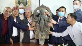 Nepal recupera una estatua de 800 años de antigüedad