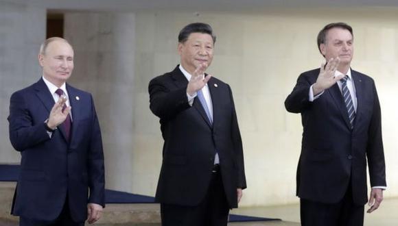Todavía no. Vladimir Putin, Xi Jinping y Jair Bolsonaro se han abstenido de felicitar al presidente electo de EE.UU. Joe Biden. (Getty Images).