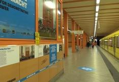Muro de Berlín: un recorrido a su historia a través de la línea 5 del metro | VIDEO