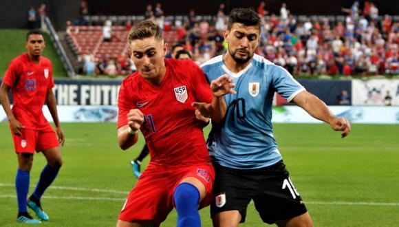 Uruguay vs. Estados Unidos: jugaron por amistoso FIFA | Foto: Uruguay