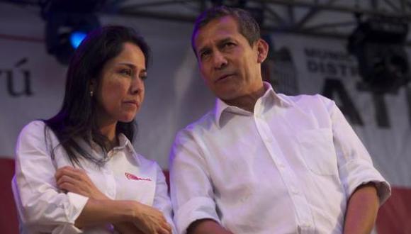 Nadine Heredia y Ollanta Humala cumplen 18 meses de prisión preventiva mientras duren las investigaciones en su contra. (Foto: El Comercio)