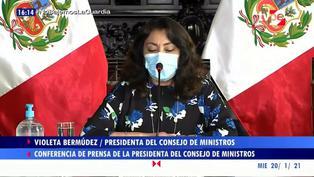 Violeta Bermúdez confirma el pago de 120 soles a miembros de mesa