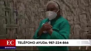Anciana que cuida a su hijo de 54 años con discapacidad mental necesita ayuda