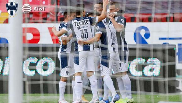 Monterrey le ganó de visita por 0-2 a Atlas por la fecha 1 del Clausura de la Liga MX   Foto: Rayados.com.