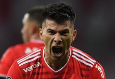 Internacional humilló y venció a Olimpia 6-1 por Copa Libertadores