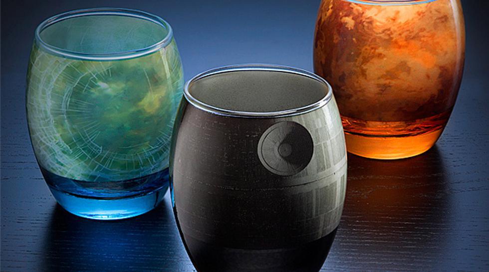 Un set de vasos diseñado para los fanáticos de Star Wars - 1