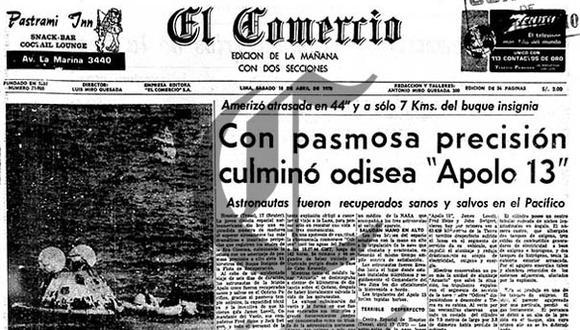 Apolo 13: la expedición que jamás tocó la luna