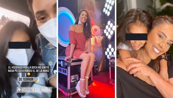 Karen Schwarz  señaló que su hija no la pasó nada bien al momento de hacerle la prueba de hisopado. (Foto: Instagram / @karenschwarzespinoza).
