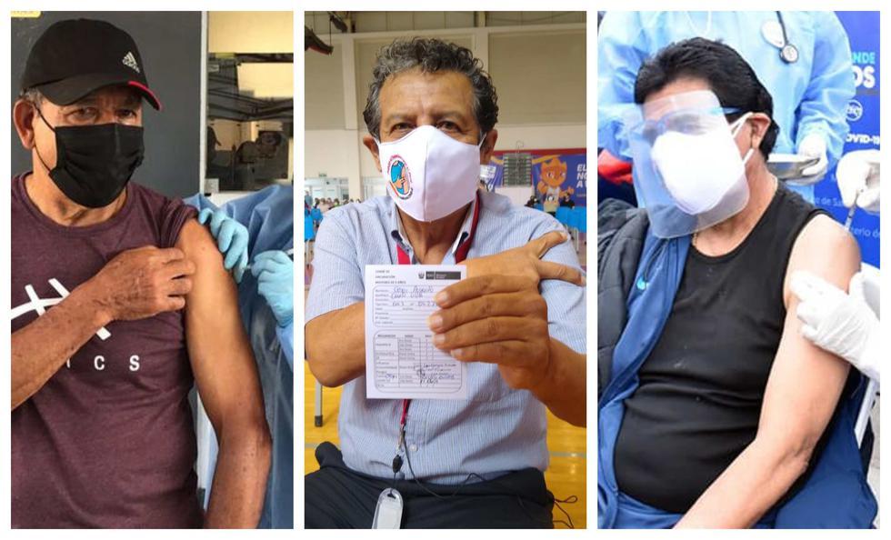 Seleccionados de los setenta y ochenta ya recibieron sus vacunas contra el coronavirus.