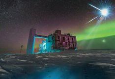"""El telescopio """"más extraño del mundo"""" que caza partículas fantasmas en la Antártida"""