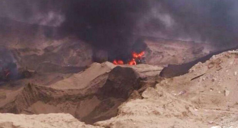 Minería ilegal: PCM encabezó operación en Villa El Salvador