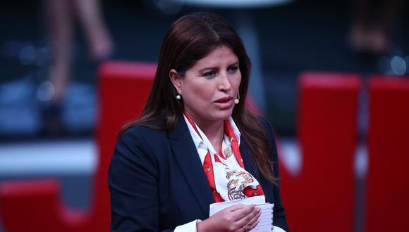 La congresista Carmen Omonte indicó que serán más cuidadosos con el cumplimiento de protocolos sanitarios en las próximas presentaciones de su partido. (Foto: Andina)