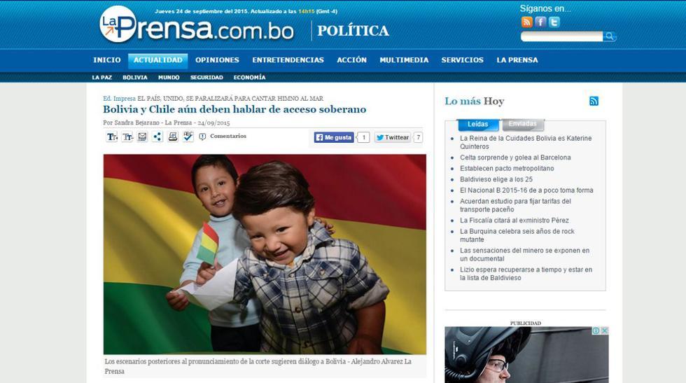 Bolivia cubre así el fallo sobre el diferendo con Chile - 5