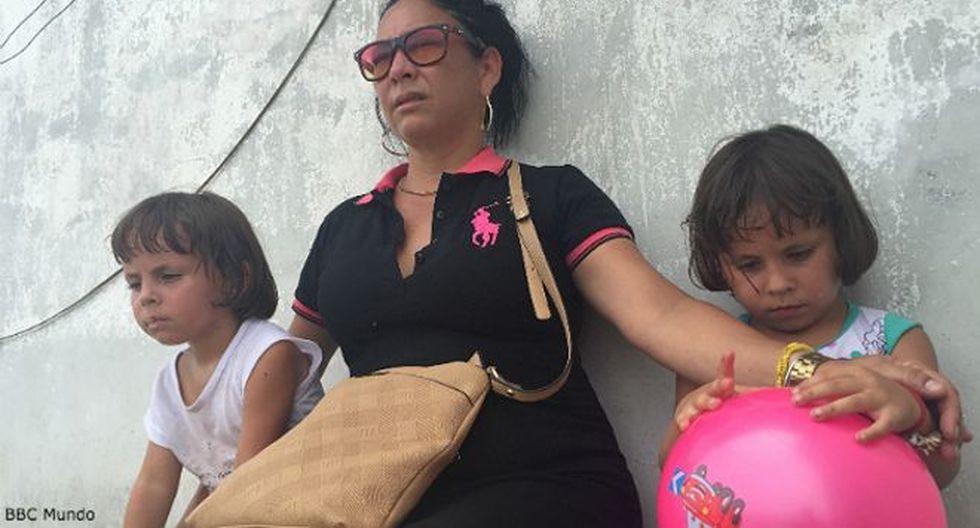"""""""Mamá, no llores, fuerza"""": Calvario cubano para llegar a EE.UU."""