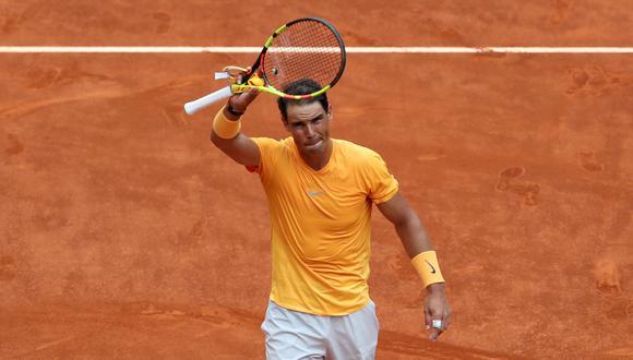 Rafael Nadal aplastó a Monfils y avanzó en el Masters 1000 de Madrid. (Foto: Reuters)