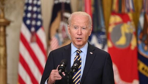 El presidente de Estados Unidos, Joe Biden, se refirió a las protestas en Cuba. (Foto: SAUL LOEB / AFP).