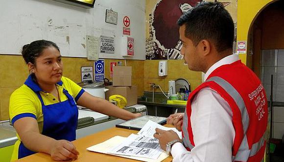 En 2018, la Sunafil llevó a cabo 4,979 órdenes de orientación en el sector comercio en distritos de Lima Metropolitana. (Foto: GEC)