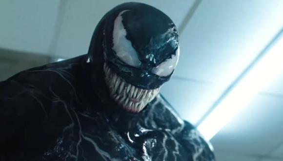 """""""Venom"""", en la cinta, y en el cómic, es un organismo de origen extraterrestre. Foto: Sony Pictures."""