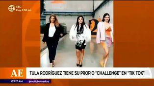 Tula Rodríguez comparte su nuevo challenge de 'Tik Tok'