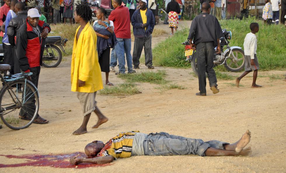 La masacre en Kenia durante la retransmisión del Mundial   - 1
