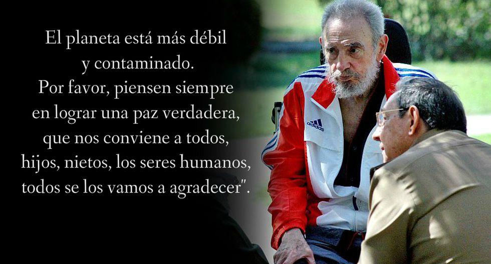 Las frases de Fidel Castro que el mundo no olvidará [FOTOS] - 7