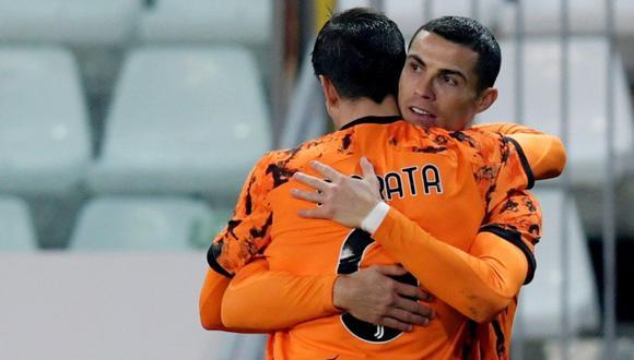 Álvaro Morata elogió a sus compañeros de equipo, Cristiano Ronaldo y Paulo Dybala | Foto: Agencias
