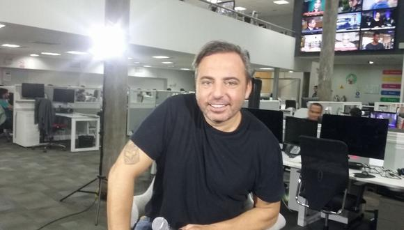 Marcos Llunas en vivo desde nuestra redacción. (Foto: El Comercio)