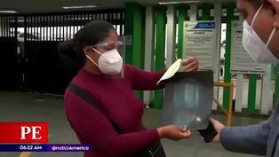 Comerciante continúa con aguja en el rostro tras ser atacada con una jeringa