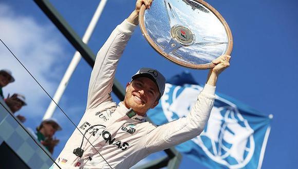 Fórmula 1: Nico Rosberg y los números para ser campeón