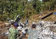 Helicóptero que cayó en Amazonas viajaba con exceso de carga, según fiscalía