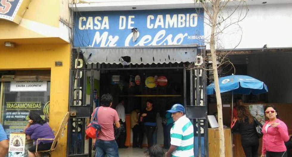 Chimbote: delincuente se llevó 20 mil dólares de casa de cambio