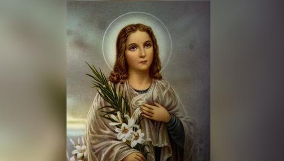 La joven santa es conocida como mártir de la castidad  (Foto: ACI Prensa)