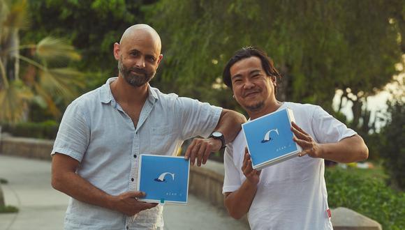 Izquierda, el fotógrafo Santiago Barco maneja también un negocio de hielos artesanales (Hielería Espíritu). Derecha, Tomás Matsufuji continúa con Al Toke Pez únicamente con la opción de recojo de pedidos en el local ubicado en la cuadra 8 de la Av. Angamos, en Surquillo.