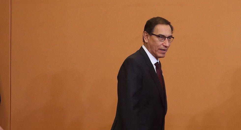 Vizcarra aseguró que el cambio en el MEF no implicará modificaciones en la política económica de su gobierno ni en los impuestos. (Foto: EFE)