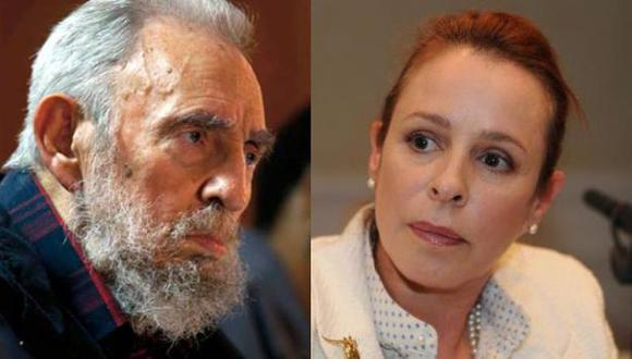 La hija de Fidel Castro que no quiso volver más a Cuba