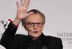 "Larry King: cuando el legendario periodista se despidió de la TV con un ""hasta pronto"""