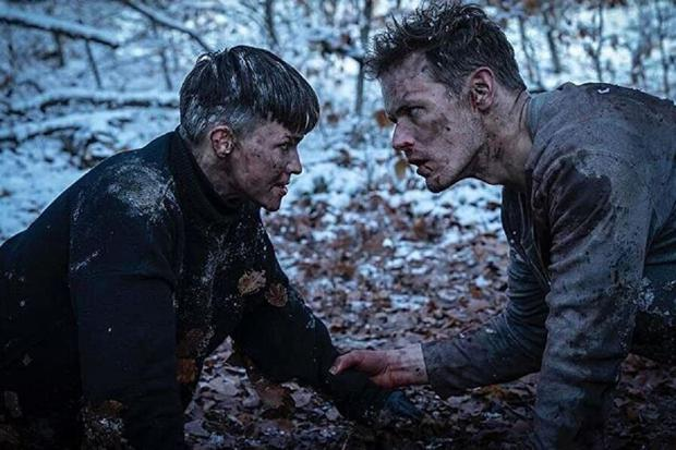 """Tom murdered Grace at the end of """"SAS: Rise of the Black Swan"""" (Photo: Sky Cinema)"""