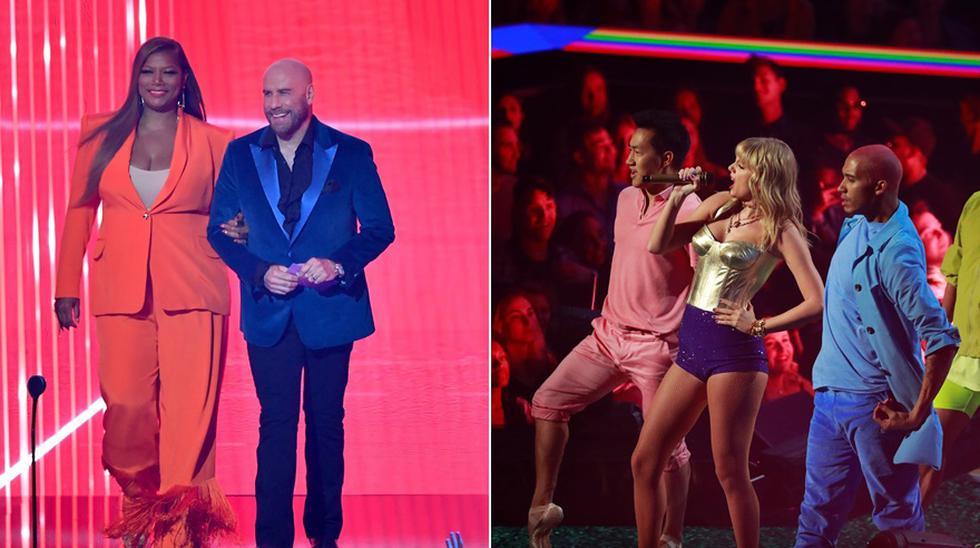 John Tavolta entregó premio a Taylor Swift en los MTV Video Music Awards 2019. (Fotos: Agencias)