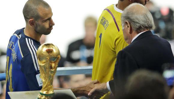 Mascherano se coronó 'campeón moral' tras arengar a Argentina