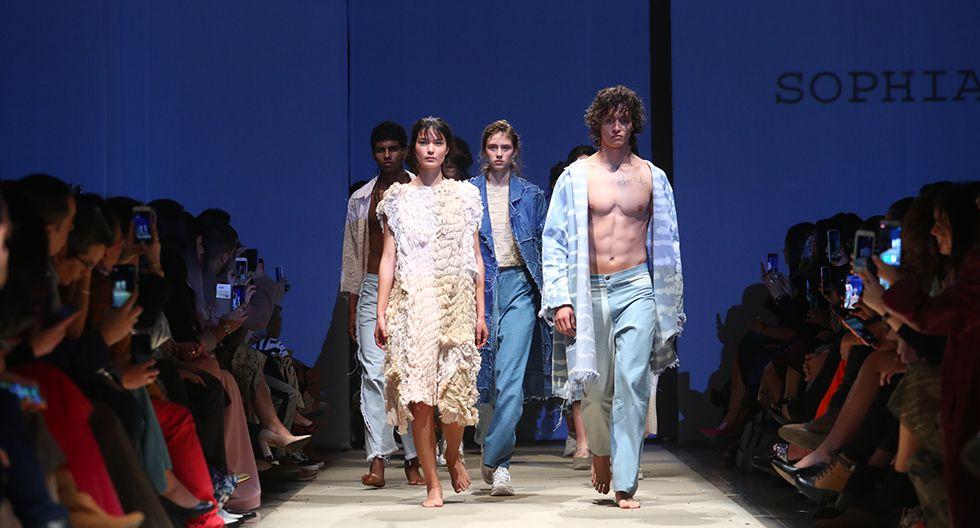 Así fue el debut de Sophia Lerner en el Lima Fashion Week   FOTOS