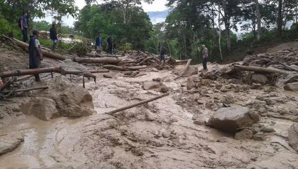 Huánuco: la policía busca a tres desaparecidos por huaico