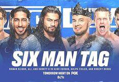 WWE SmackDown EN VIVO ONLINE vía Fox Sports 2 desde Chicago