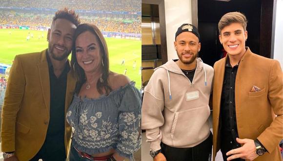 Madre de Neymar presenta a su nueva pareja sentimental. (Foto: @nadine.goncalves/@tiagoramoss)