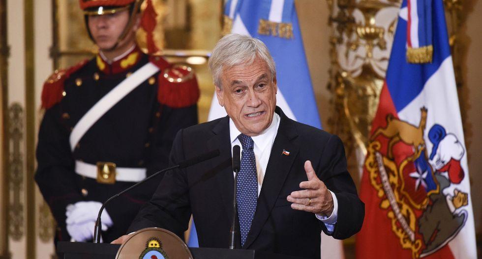 Sebastián Piñera, presidente de Chile. (Foto: AP/Gustavo Garello)