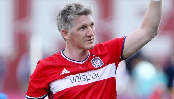 Bastian Schweinsteiger se retira en el Chicago Fire, de la Major League Soccer. (Foto: AP)