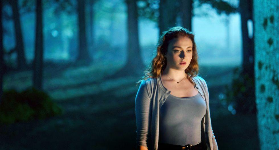 "Sophie Turner en ""X-Men: Dark Phoenix"" (2019), donde interpretó a Jean Grey. Foto: AFP."