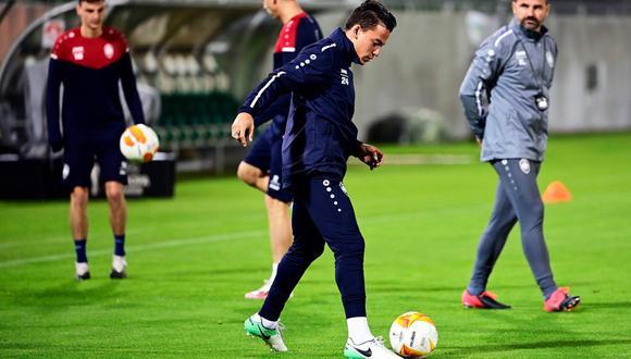 Cristian Benavente debutó en la selección peruana en 2013. (Foto:Twitter Royal Antwerp FC / @official_rafc)